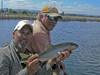 Jeff with guide Art Teter & Fall River Trophy
