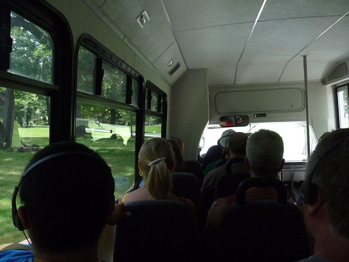 bus ride to the house.