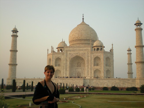 Me at the Taj Mahal: November, 2008