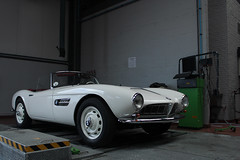BMW 507 (Arjandeiro) Tags: auto old original classic cars vintage germany rally engine ancestor bmw trailer z4 rare z3 tachometer dyno 507 z8 dynorun