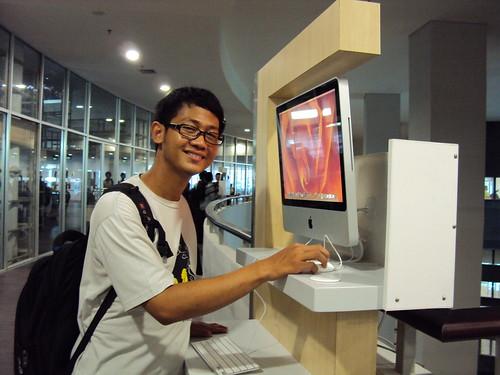 Coba-coba Apple Mac