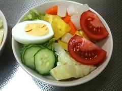 朝食サラダ(2011/6/8)