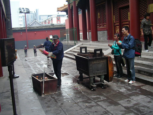 Buddhist temple, Beijing