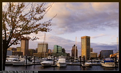 The Inner Harbor (Miss Delicacy) Tags: usa landscape harbor baltimore inner ls4 sharefa alasfour