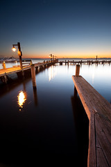 Kirkland Waterfront (Cynthia.Lou) Tags: seattle longexposure nightphotography sunset lake water photoshop pier waterfront wideangle lakewashington kirkland washingtonstate canoneos5d overtheexcellence concordians cynthialou