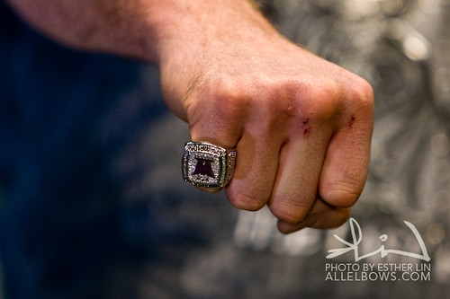 Fedor's Fist with WAMMA ring