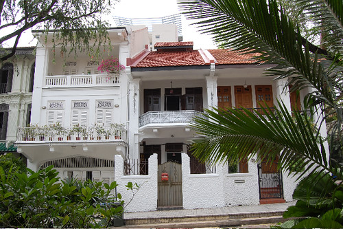 Local rowhouses are a fusion of European and Asian influences.jpg
