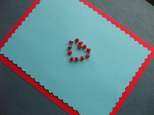 beaded valentine