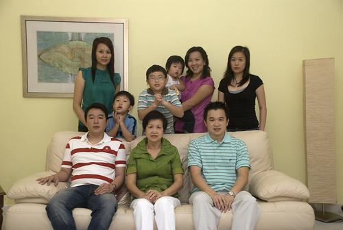 2009大年初一家庭照