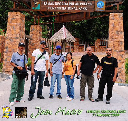 """Jom Macro"" Group Shot @ Penang National Park"