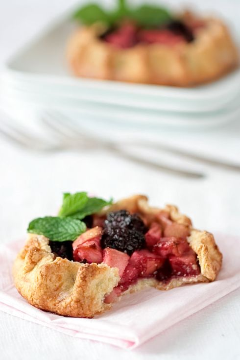 Apple & Blackberry Galettes