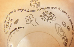 """""""A dream you dream alone is only a dream. I dream you dream together is reality!"""" (treehugger*) Tags: world winter macro hearts words peace quote dream olympus quotes february peacesign sayings treehugger textured kait benjerrys icecreamcontainer imaginewhirledpeace"""