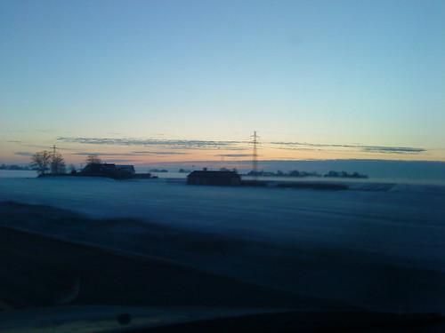 -7℃の朝