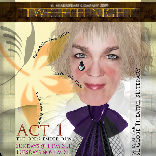 OEP1 Twelfth Night Main - Feste with TriplePlay