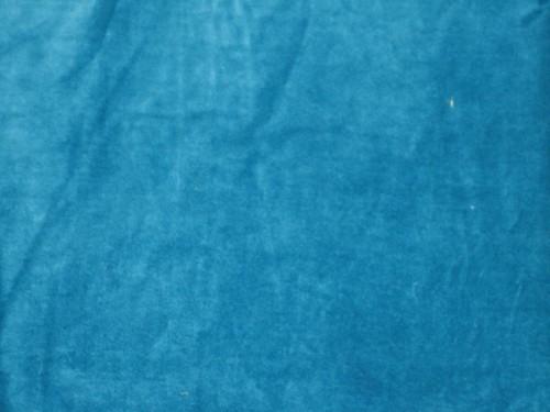 100 Cotton Velvet Fabric 44 Quot Wide Turquoise Blue Colour