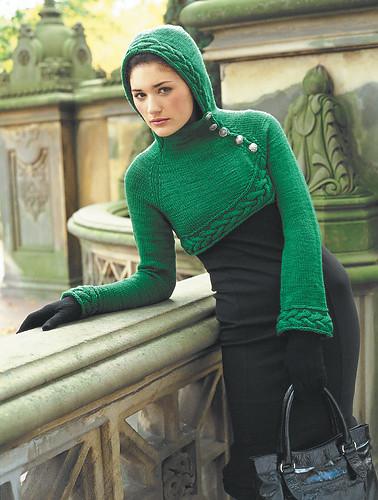 Vogue Little Green Hoodie