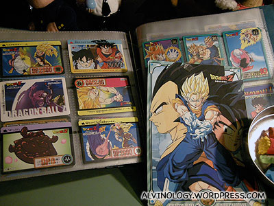 Dragonball cards - Mark and I used to collect lots of these