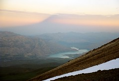 Shadow of Damavand, Iran (taken from about 5000 m, a guess) (Frans.Sellies) Tags: iran damavand