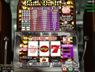 Bank On It slot game online review