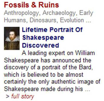 ShakespeareFossil