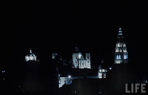 Vista de Toledo en 1963. Fotografía de Dmitri Kessel. Revista Life (2)