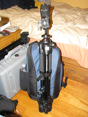 flipside 300 with a full blown tripod (C2thew) Tags: arcticblue whatsinyourcamerabag flipside300 loweprobagreview