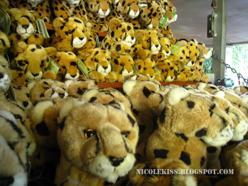 mountain of tiger cuddlies