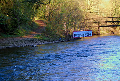 Finish Line (Dunc(an)) Tags: sunset water river derwent derbyshire peakdistrict canoe finish matlock finishline daleroad matlockdale canoecourse