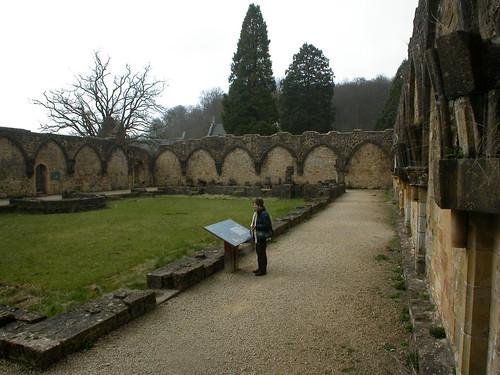 Orval monastery ruins, Belgium