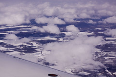 the game pieces are clouds (waferboard) Tags: peace peaceriver arial fortstjohn