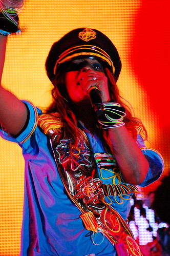 Coachella '09 Saturday: M.I.A. goes big, Killers watch people go home