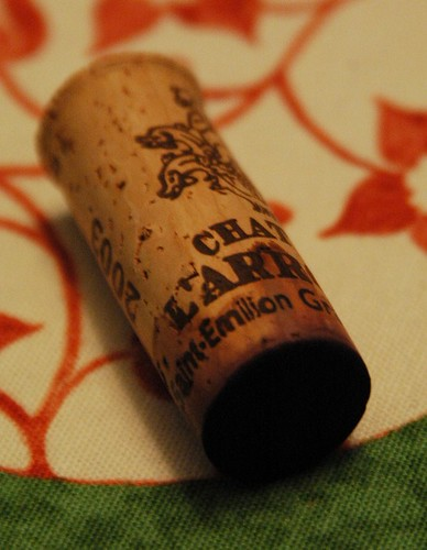 2003 Chateau L'Arrosee cork
