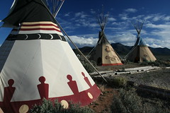 Taos County, NM (c graczyk) Tags: newmexico landscape nativeamerican taos teepee nm teepees taoscounty