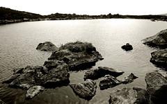 eternity pool (sskelman) Tags: uk blackandwhite water scotland angus glen loch moutains kirriemuir glens clova lochbrandy