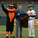 STS-119 Orioles Opening Pitch