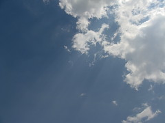 Sky (kiralaktionov) Tags: summer sky cloud sun clouds shine limit shining breaking