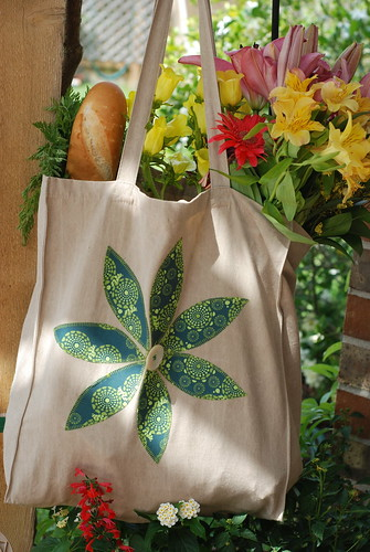 Organic Cotton Tote Bag...giveaway! by you.
