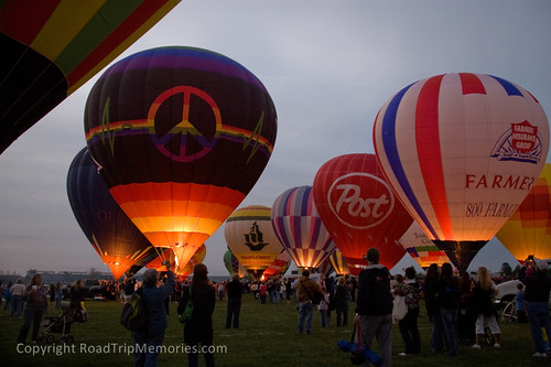 Centennial Era Balloon Festival at the Indianapolis Motor Speedway