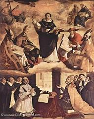 Der hl. Thomas von Aquin