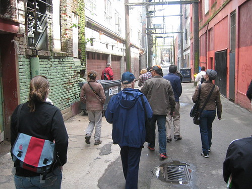 Jane's Walk in the Downtown Eastside