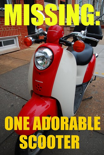Missing scooter
