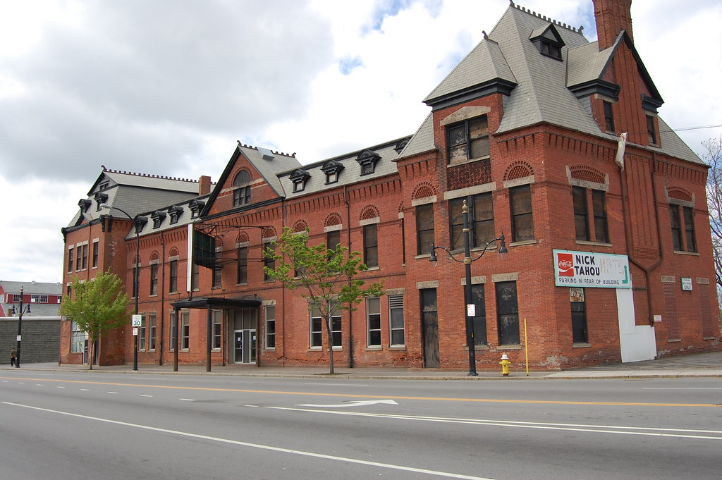 Former Buffalo,Rochester and Pittsburgh  Railroad Station