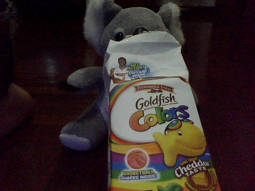 Ozzie Pete my Goldfish snack by isbes.