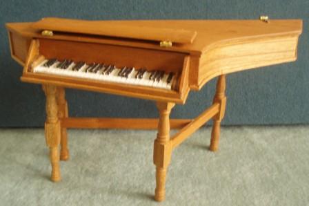 Vintage Hand Made Harpsichord