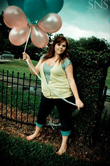 balloons ({SNS Photography}) Tags: pink green girl balloons pretty freelancephotography orlandophotography snsphotography