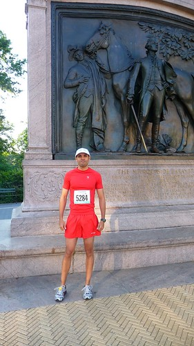 Alex's first marathon