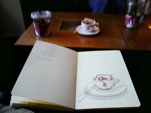 Espresso sketch