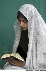 Etekaf (chador lover) Tags: white veil sefid chador