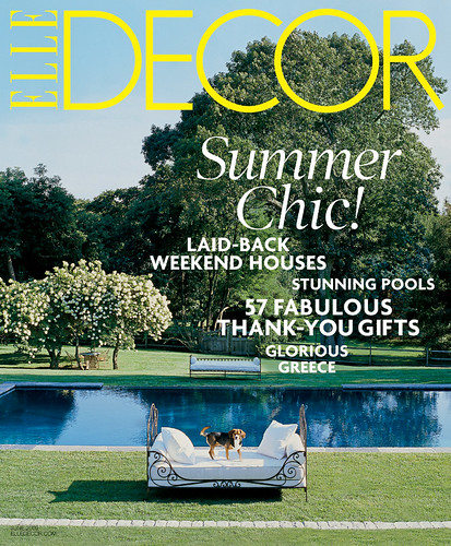 Elle Decor JuneCover