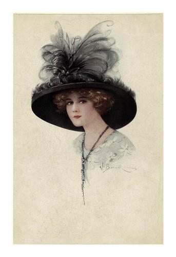 006- Sombreros de mujer 1910